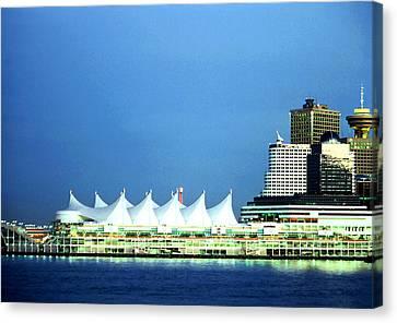 Canada Place Pavilion Canvas Print