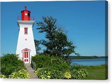 Canada, Prince Edward Island, Victoria Canvas Print by Bill Bachmann