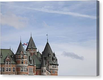 Openair Canvas Print - Canada, Quebec, Quebec City, Chateau by Tips Images