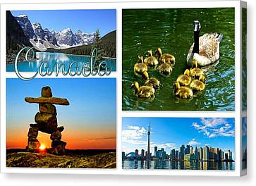 Canada Canvas Print by The Creative Minds Art and Photography
