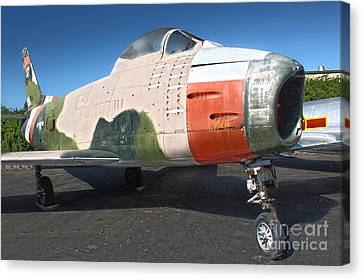 Canadair Sabre Qf-86h Canvas Print by Gregory Dyer