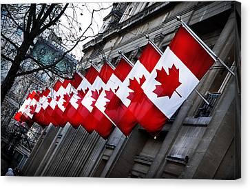 Canadian Embassy London Canvas Print by Mark Rogan