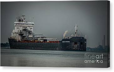 Canadian Enterprise Canvas Print by Ronald Grogan