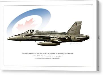 Canadian Hornet Canvas Print by Peter Van Stigt