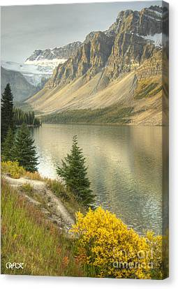 Canadian Scene Canvas Print