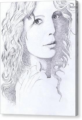 Mclachlan Canvas Print - Canadian Songstress by Paul Smutylo