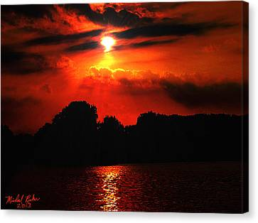 Canadian Sunrise Canvas Print