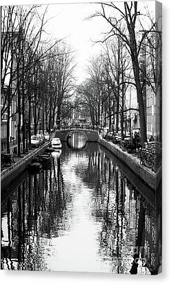 Canal Canvas Print by John Rizzuto