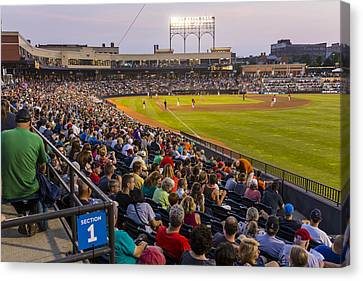 Canal Park  Canvas Print by Tim Fitzwater