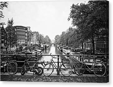 Canals Canvas Print by Ryan Wyckoff