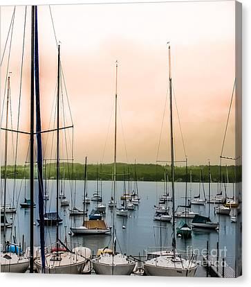 Canandaigua Lake Canvas Print by Ken Marsh