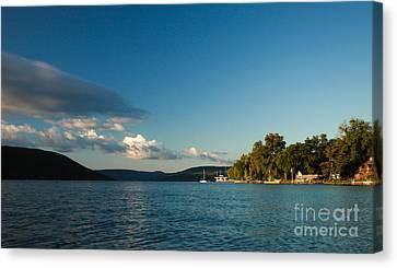 Canandaigua Lake Western Shore Canvas Print
