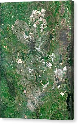 Canberra Canvas Print - Canberra by Planetobserver