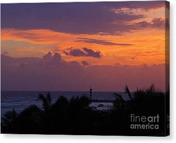 Cancun Lighthouse Canvas Print by Halifax photographer John Malone