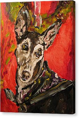 Candi Suzanne Canvas Print by Susan E Jones
