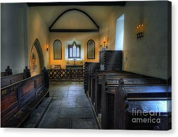Candle Church Canvas Print by Ian Mitchell