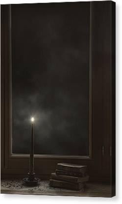 Candle Light Canvas Print by Joana Kruse