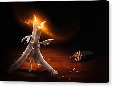 Candlelight Tango Canvas Print