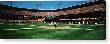 Enjoyment Canvas Print - Candlestick Park San Francisco Ca by Panoramic Images
