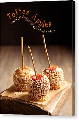 Candy Apples Canvas Print by Amanda Elwell