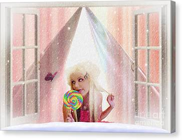 Candy Kisses Canvas Print by Liane Wright