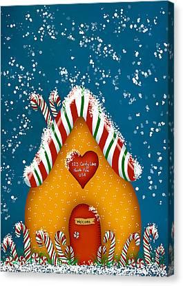 Candy Lane Canvas Print