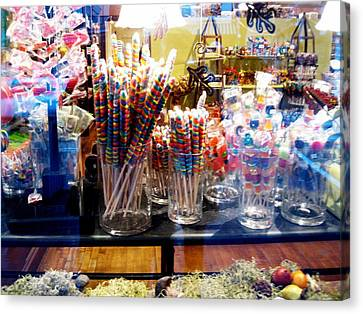 Candy Store 2 Canvas Print by Will Boutin Photos