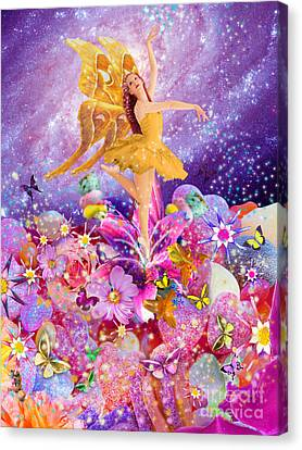 Candy Sugarplum Fairy Canvas Print by Alixandra Mullins