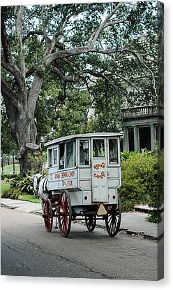 Candy Wagon In New Orleans Canvas Print