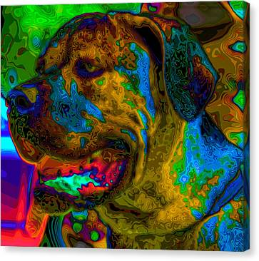 Cane Corso Pop Art Canvas Print by Eti Reid