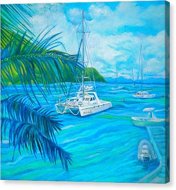 Cane Garden Bay Canvas Print