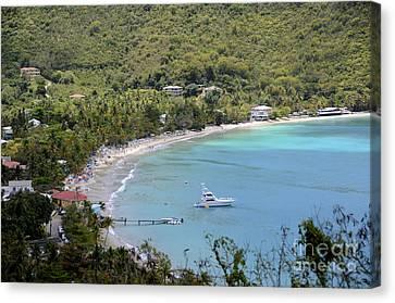 Cane Garden Bay Tortola Canvas Print
