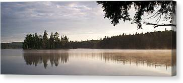 Canisbay Lake - Panorama Canvas Print