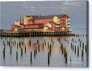 Cannery Pier Hotel Canvas Print by Mark Kiver