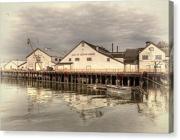 Cannery Canvas Print by Randy Hall