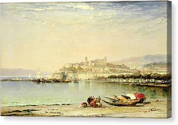 Cannes, 1897 Canvas Print