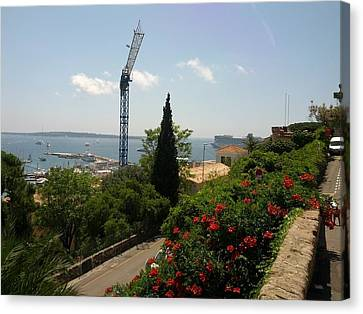 Cannes French Riviera IIi Canvas Print by Shesh Tantry
