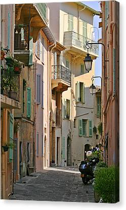 Cannes - Le Suquet - France Canvas Print by Christine Till