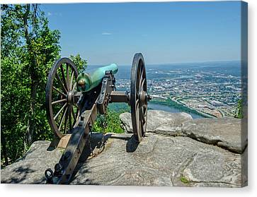 Cannon At Point Park Canvas Print