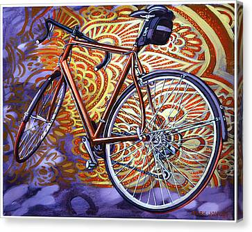 Canvas Print featuring the painting Cannondale by Mark Howard Jones
