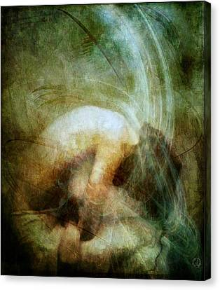Cannot See Her Own Light Canvas Print by Gun Legler