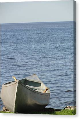 Canvas Print featuring the photograph Canoe by Tiffany Erdman