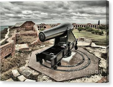Canon Fire 360 Canvas Print by Adam Jewell
