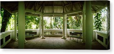 Garden Scene Canvas Print - Canopy In The Botanical Garden, Jardim by Panoramic Images