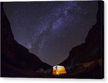 Canopy Of Stars Canvas Print by Aaron Bedell