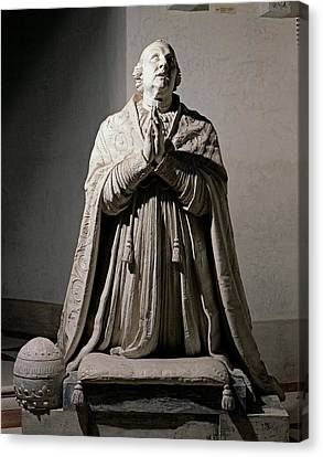 Canova Antonio, Pius Vi Praying, 1817 Canvas Print