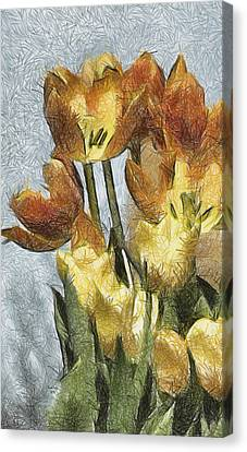 Can't Wait For Spring Canvas Print by Trish Tritz