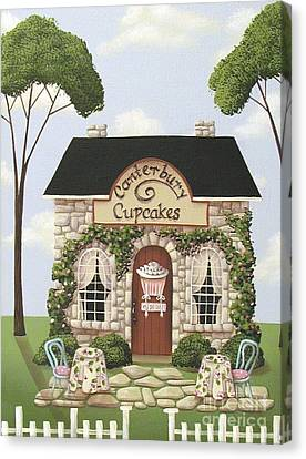 Canterbury Cupcakes Canvas Print by Catherine Holman