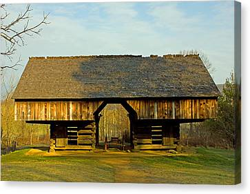 Cantilever Barn Canvas Print by Wild Expressions Photography