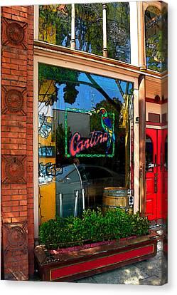 Cantina Canvas Print by James Eddy